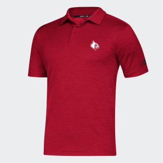 Cardinals Game Mode Coach Polo Shirt Ncaa-Lou-79s / Power Red / Black EC2741