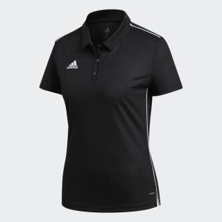 Core 18 Climalite Polo Shirt Black / White CE9039