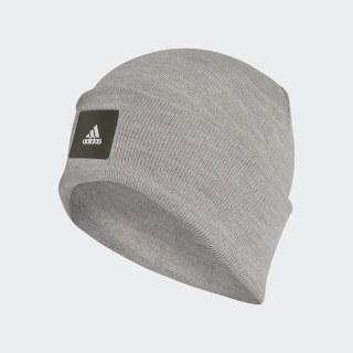 Шапка-бини Logo medium grey heather / medium grey heather / night cargo DJ1211