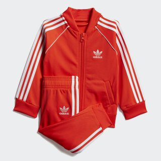 SST Tracksuit Active Orange / White DV2822