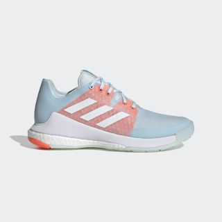 Crazyflight Shoes Sky Tint / Cloud White / Signal Coral EF2676