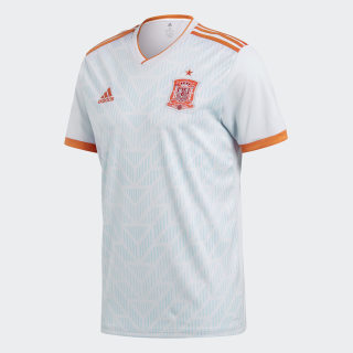 Spain Away Jersey Halo Blue / Bright Red BR2697