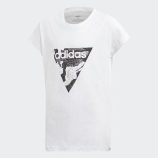 T-shirt Essentials Loose White / Black DV0338