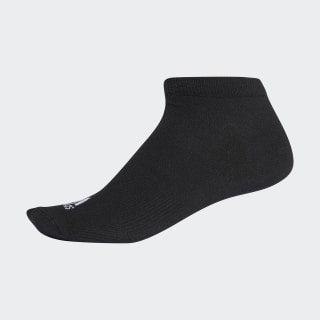Performance No-Show Socks 1 Pair Black / Black / White AA2315