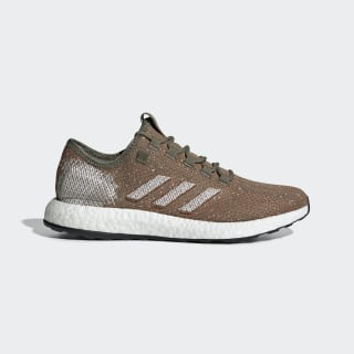 Chaussure Pureboost Raw Khaki / Crystal White / True Orange B37786