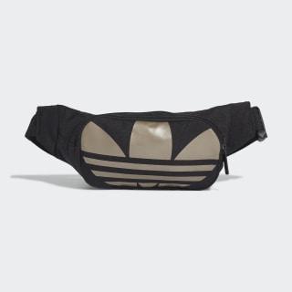 Adicolor Trefoil Waist Bag Black / Gold Metallic FT8917