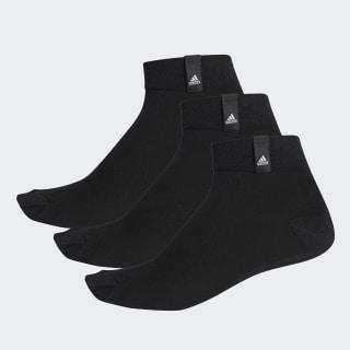 Три пары носков Performance black / black / white AA2484