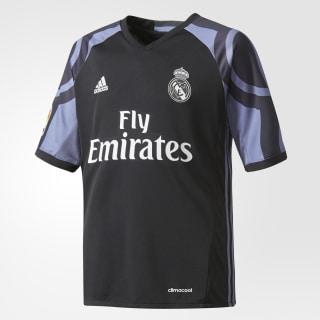 Jersey del Tercer Uniforme del Real Madrid. BLACK/SUPER PURPLE AI5143