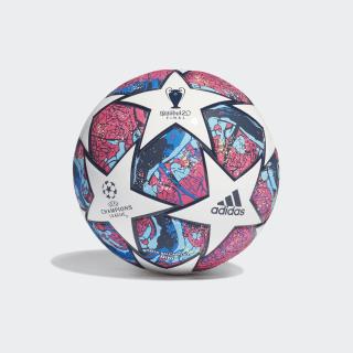 UCL Finale Istanbul Mini Ball White / Pantone / Glow Blue / Dark Blue FH7348
