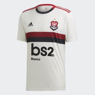 Camisa CR Flamengo 2 Core White / Core White / Black EV7249