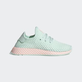 Deerupt Runner Shoes Turquoise / Ftwr White / Clear Orange CG6851