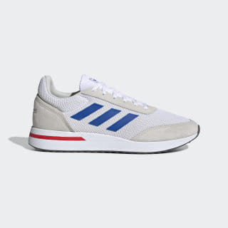 Tênis Run 70s ftwr white/blue/raw white EE9748