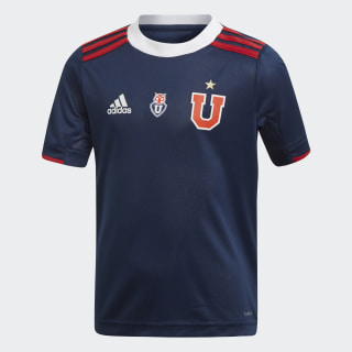 Mini Uniforme de Local Universidad de Chile top:collegiate navy/power red bottom:collegiate navy/power red DP2638
