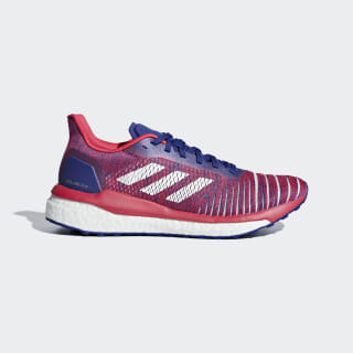 Zapatillas Solar Drive Active Blue / Ftwr White / Shock Red B96232