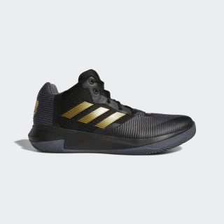 Rose Lethality Shoes Core Black / Grey / Gold Metallic BB7667