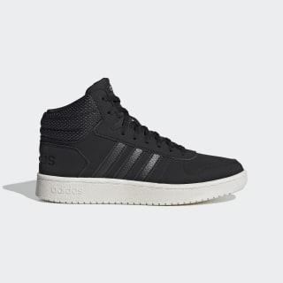 Hoops 2.0 Mid Shoes Core Black / Core Black / Matte Silver EG7734
