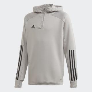 Giacca da allenamento Condivo 20 Hooded Team Mid Grey / Black EK2956