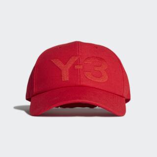 Y-3 Logo Kappe Red FS3319