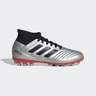 Predator 19.3 AG Boots Silver Met. / Core Black / Hi-Res Red G25798