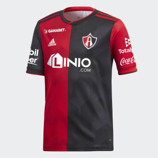 Jersey de Local Atlas Fútbol Club Niños Scarlet / Power Red / Black / Night Grey CW5534