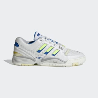 Torsion Comp Shoes Crystal White / Signal Green / Glow Blue EF5972