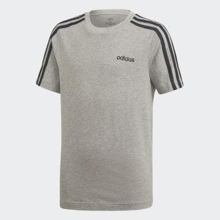 T-shirt Essentials 3-Stripes Medium Grey Heather / Black DV1803