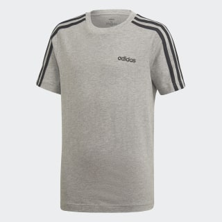T-shirt Essentials3-Stripes Medium Grey Heather / Black DV1803