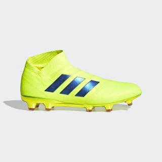 Chuteira Nemeziz 18+ Campo Solar Yellow / Football Blue / Active Red BB9420