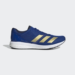Tenis Adizero Boston 8 Collegiate Royal / Gold Metallic / Cloud White G28859