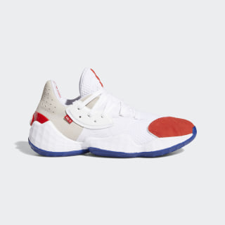 Harden Vol. 4 Question Shoes Cloud White / Red / Team Royal Blue FV5598