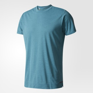 Playera Climachill Speed Stripes FreeLift CHILL LG/CORE GRN DD B45901