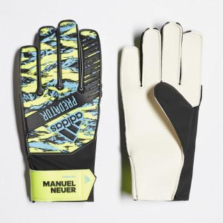 Guanti Predator Manuel Neuer Young Pro Solar Yellow / Bright Cyan / Black DY2626