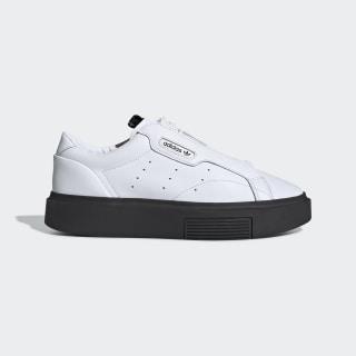 adidas Sleek Super Zip Shoes Cloud White / Cloud White / Core Black EF1899