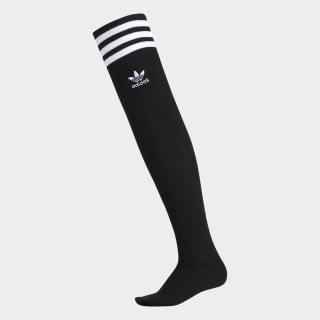 Thigh High Socks Black CK6747