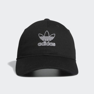 Relaxed Outline Hat Black CM3935