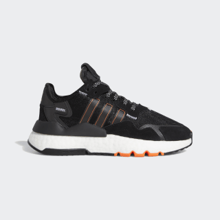 Zapatilla Nite Jogger Core Black / Cloud White / Solar Orange FW0188