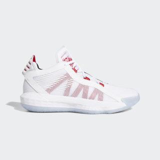 Баскетбольные кроссовки Dame 6 ftwr white / scarlet / core black EH2069