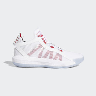Scarpe Dame 6 Cloud White / Scarlet / Core Black EH2069