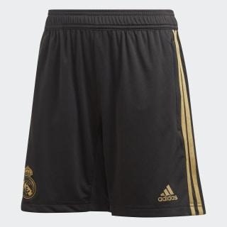 Real Madrid Training Short Black / Dark Football Gold DX7843