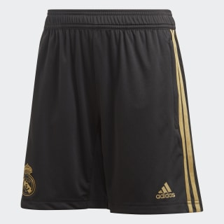 Short d'entraînement Real Madrid Black / Dark Football Gold DX7843