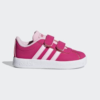 VL Court 2.0 Schoenen Real Magenta / True Pink / Cloud White F36406