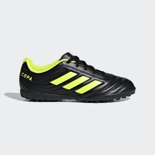 Футбольные бутсы Copa 19.4 TF core black / solar yellow / core black D98100