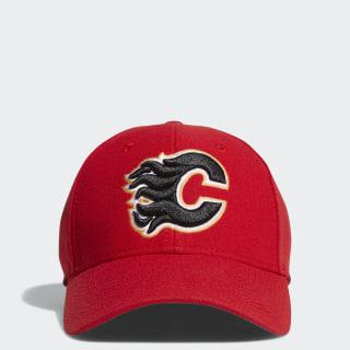 Flames Structured Flex Cap Red CP8347