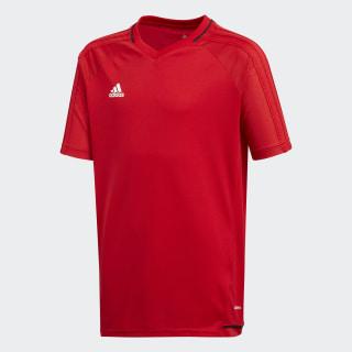 Camiseta de entrenamiento Tiro 17 Scarlet / Black / White BP8561