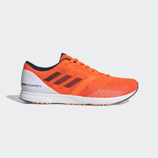 Chaussure Adizero Takumi Sen 5 Cloud White / Solar Orange / Solar Orange F34069