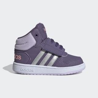 Hoops 2.0 Mid Shoes Tech Purple / Matte Silver / Purple Tint EH0190