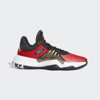 D.O.N. Issue #1 Shoes Core Black / Scarlet / Gold Metallic EF9919