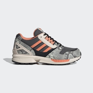 ZX 8000 Shoes Grey Six / Semi Coral / Core Black FW9783