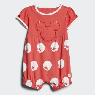 Tuta Disney Mickey Mouse Core Pink/White CE9813