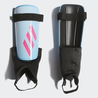 X Club Shin Guards Bright Cyan / Shock Pink / Black DY0087